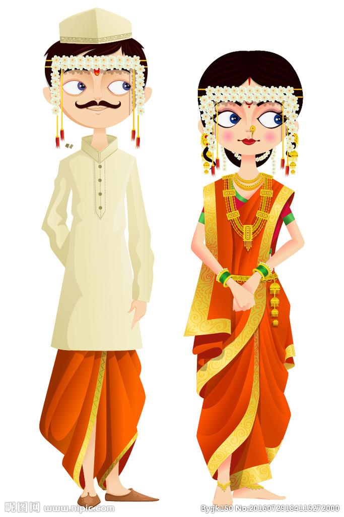 马来西亚新郎与新娘服饰