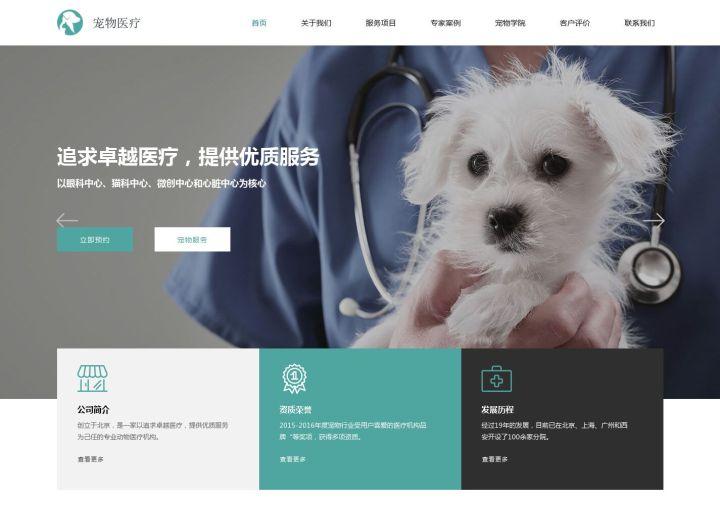 宠物医疗官网介绍
