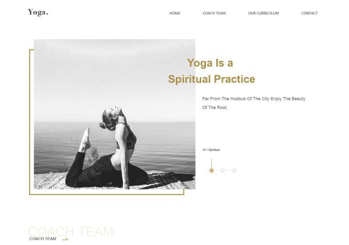 瑜伽馆网站