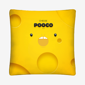 CHEESE POOCO 奶酪小抱枕